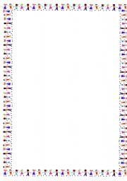 English worksheet: template
