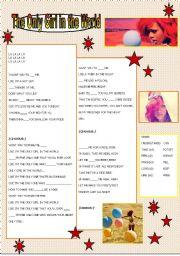 English Worksheet: Rihanna song