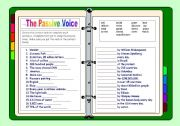 Passive voice present perfect exercises