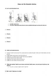 English Worksheets: Chaga and the Chocolate Factory - Worksheet
