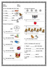 worksheet: quiz for kids 2