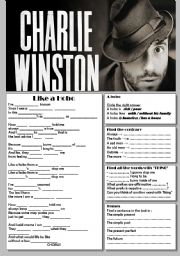 English Worksheets: Charlie Winston, Like a Hobo