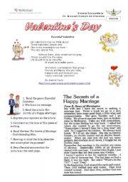 English Worksheet: Provocative Valentine´s Day