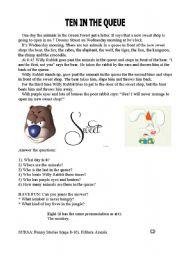 English Worksheets: funny