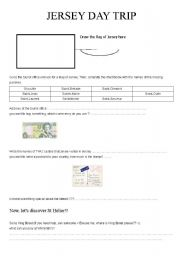 English Worksheets: Jersey Day trip