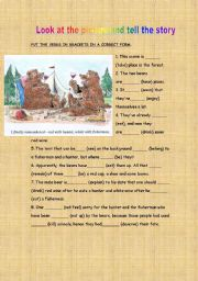 English Worksheets: What�s in the picture?