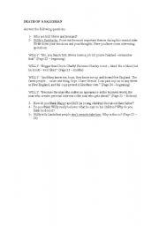 English Worksheets: Death of a Salesman II