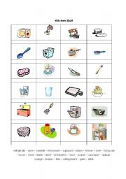 English Teaching Worksheets In The Kitchen