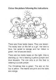 Printables Christmas Reading Comprehension Worksheets english worksheet xmas reading comprehension