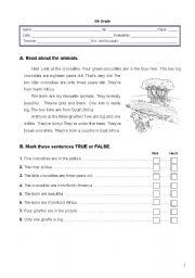 English Worksheet: Worksheet - 2nd term - 5th grade