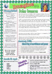 English Worksheets: School day of non-violence and peace, 30th January