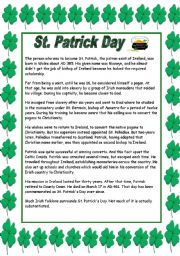 It is a picture of Stupendous Printable Leprechaun Story