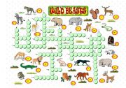 English Worksheets: Wild beasts