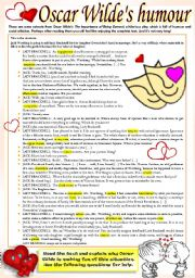 English Worksheet: HUMOROUS READING