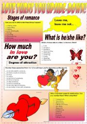 English Worksheet: WORDS OF LOVE