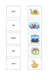 English Worksheets: Young Learner�s Memory Game