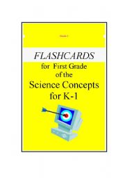 English Worksheets: *****Science Flashcards