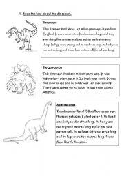 dinosaurs worksheets. Black Bedroom Furniture Sets. Home Design Ideas