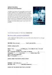 English Worksheets: HEREAFTER - Film Trailer