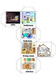 English worksheets: rooms in the house worksheets, page 37