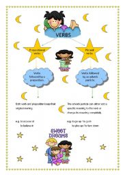 English Worksheet: Prepositional and phrasal verbs