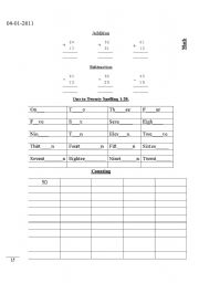 english worksheets english urdu work sheet. Black Bedroom Furniture Sets. Home Design Ideas