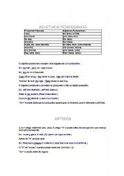 English Worksheets: Basic