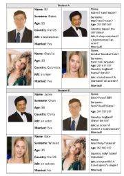 English Worksheet: YES or NO questions about celebrities