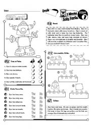 English Worksheet: 5 Minute Fillers Series_01 Body Parts (Fully Editable + Key)