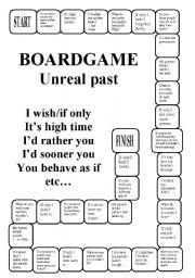 Unreal past - a boardgame (editable)