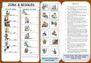 JOBS & RIDDLES