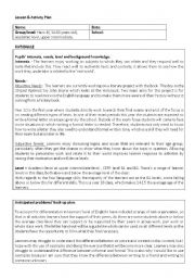 English Worksheets: Letter Writing