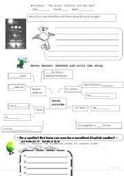 english teaching worksheets movies. Black Bedroom Furniture Sets. Home Design Ideas