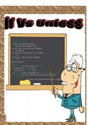 If  Vs Unless