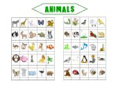 English Worksheets: Animals (2 pages)