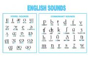 English Worksheet: Phonetic Symbols Chart