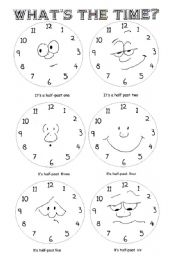 what´s the time? Half past Part 3