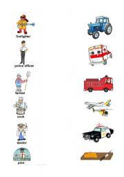 Worksheets http www eslprintables com vocabularyworksheets jobs