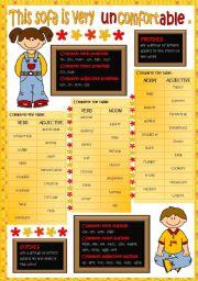 Word Formation (B&W + KEY included)