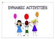 English Worksheets: dynamic activities 1/4