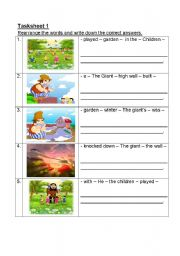 free short a worksheets