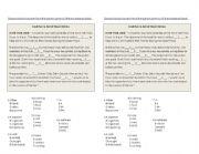 English Worksheets: flood worksheet