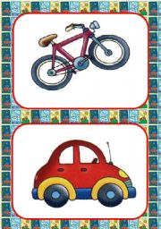 English Worksheets: MEANS OF TRANSPORTATION FLASHCARDS