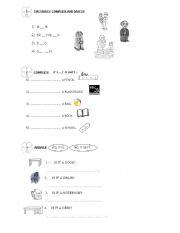 English worksheet: It is / It isn´t ....Yes, it is / No, it isn´t