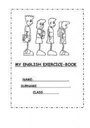 English worksheet: COVER