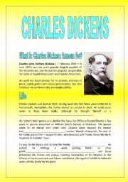 CHARLES DICKENS AND HIS MOST FAMOUS NOVELS (WITH KEY)