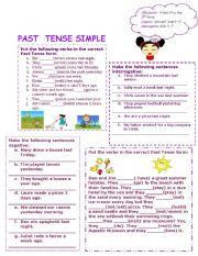 english worksheets simple past worksheets page 459. Black Bedroom Furniture Sets. Home Design Ideas