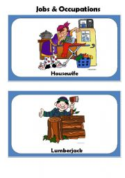 English Worksheets: JOBS & OCCUPATIONS
