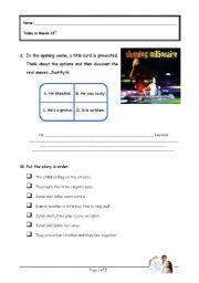 English Worksheets: Slumdog Millionaire