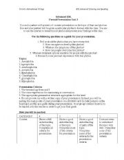 English Worksheet: Advanced ESL Phobias